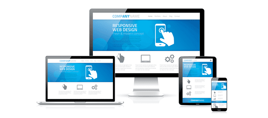 Responsive Web Design - Website for all display sizes.