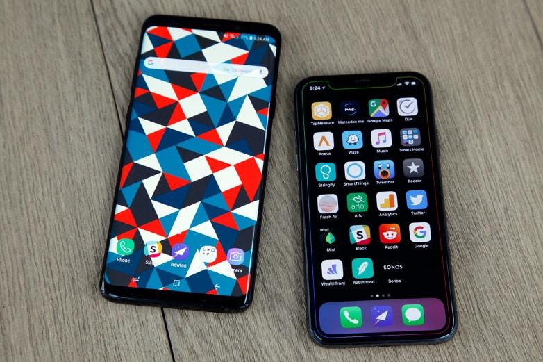 galaxy-s9-vs-iphone-x