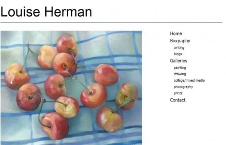 Louise Herman Artist/Writer website