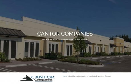 Cantor Companies Website
