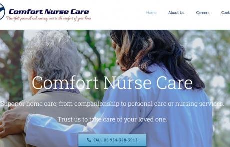 comfort-nurse-care-website
