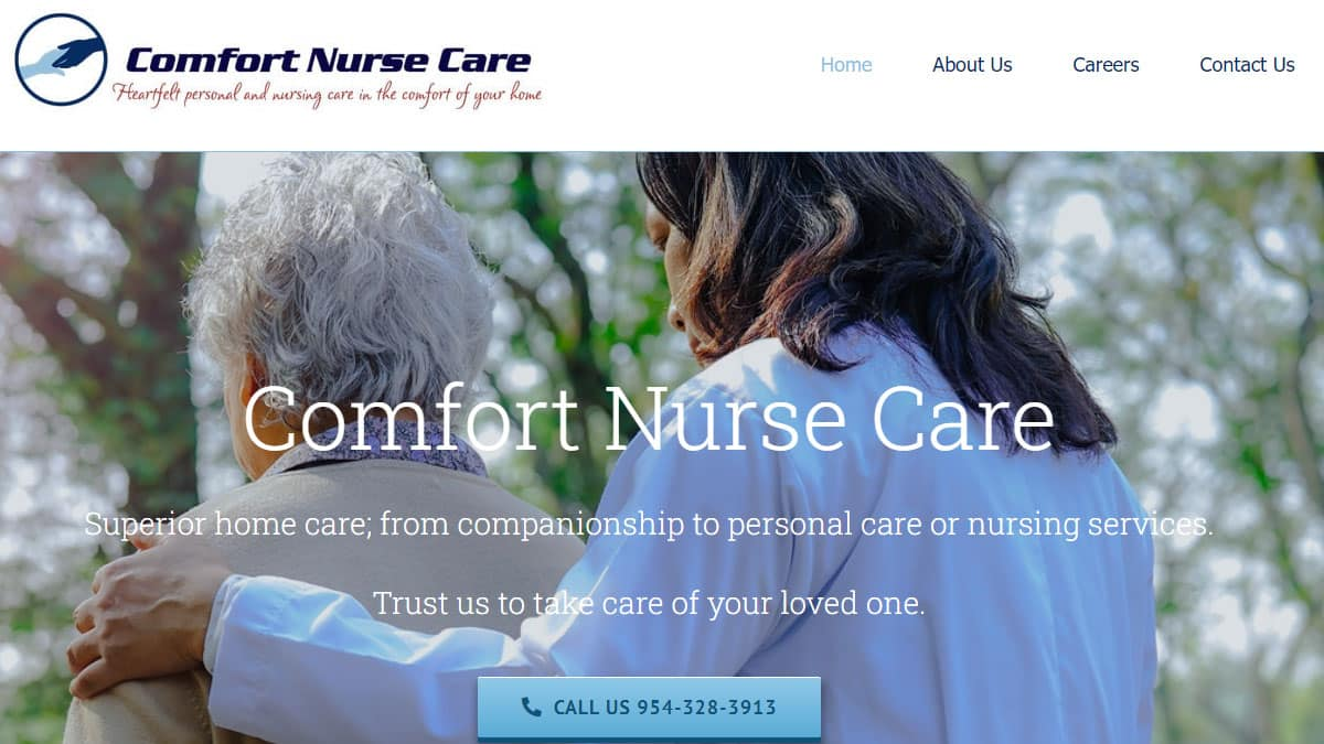comfort-nurse-care-website