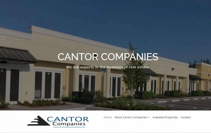 cantor-companies-website