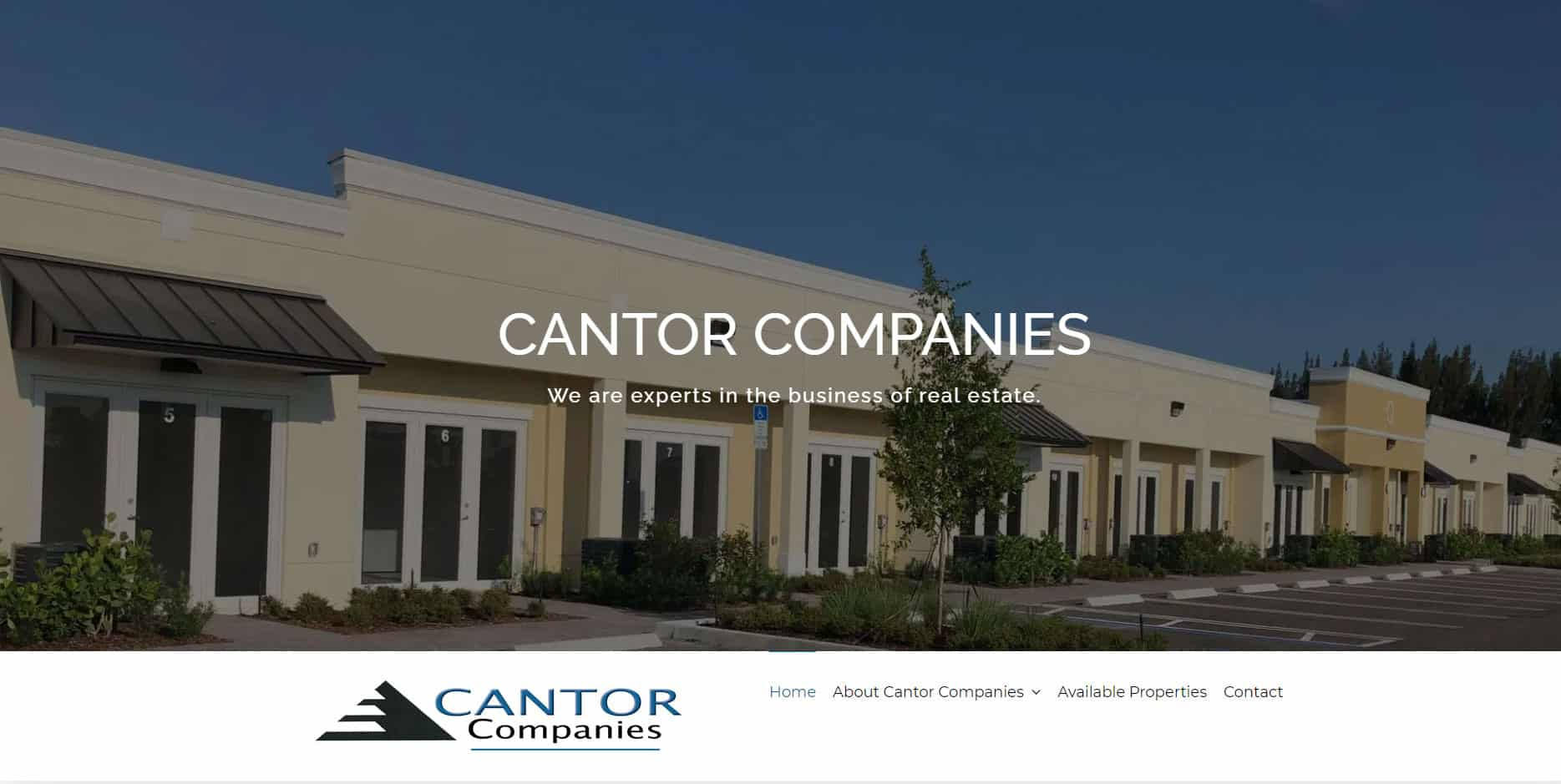 cantor-companies-website