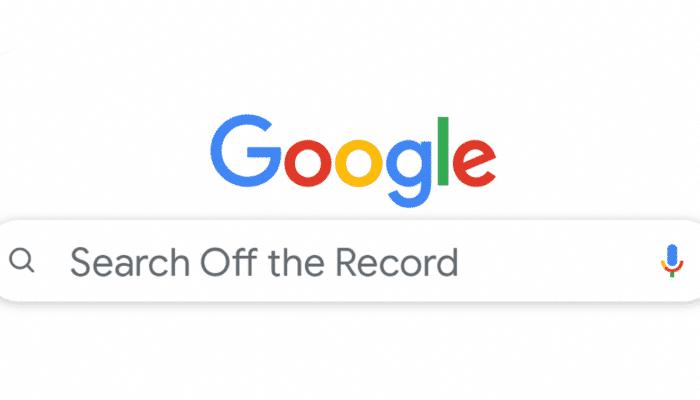 google-search-off-record