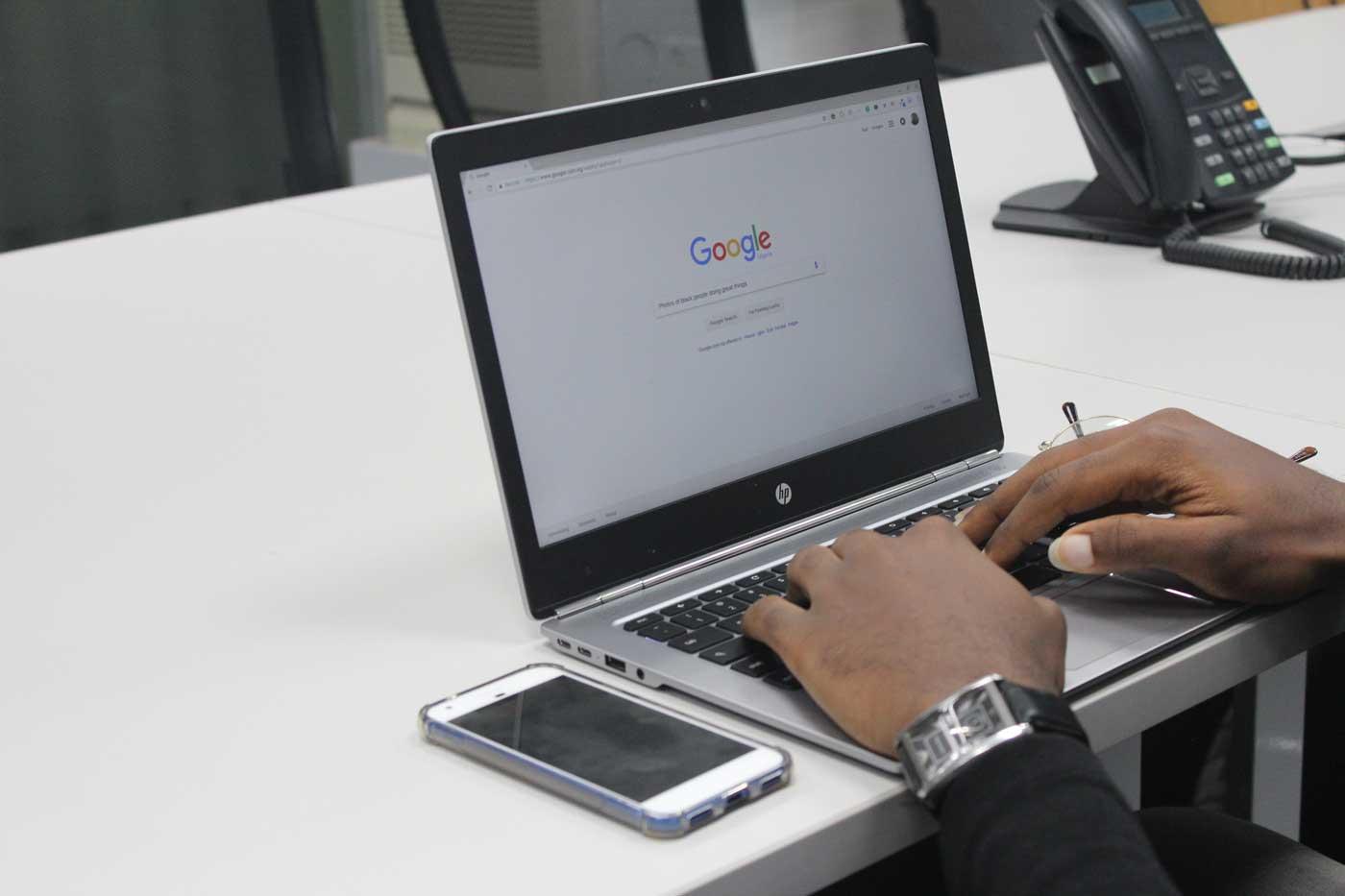 laptop on google