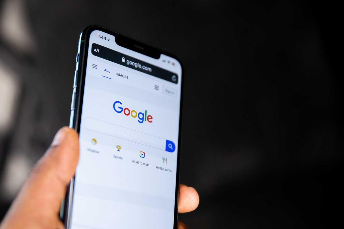 smartphone on google